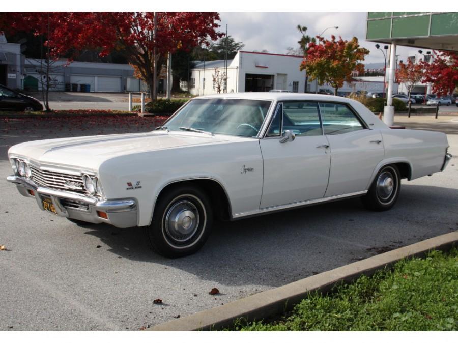 Chevrolet Caprice Sport Sedan хардтоп 4-дв., 1966, 1 поколение [рестайлинг] - отзывы, фото и характеристики на Car.ru