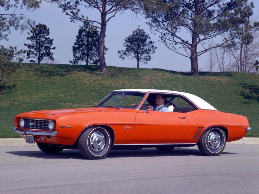 Chevrolet Camaro купе 2-дв., 1969, 1 поколение [2-й рестайлинг] - отзывы, фото и характеристики на Car.ru