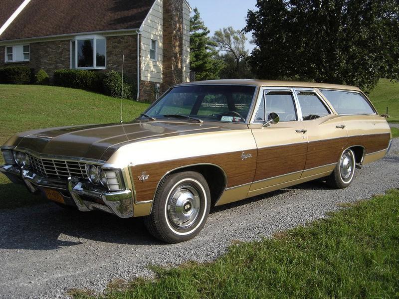 Chevrolet Caprice Kingswood Estate универсал, 1967, 1 поколение [2-й рестайлинг] - отзывы, фото и характеристики на Car.ru