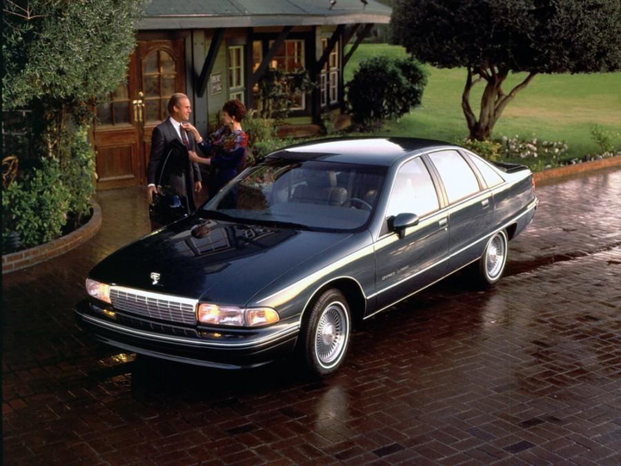Chevrolet Caprice седан, 1991–1996, 4 поколение - отзывы, фото и характеристики на Car.ru