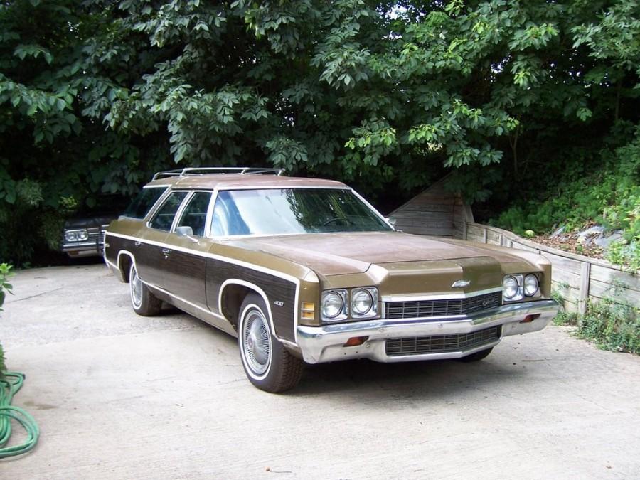 Chevrolet Caprice Kingswood Estate универсал, 1972, 2 поколение [рестайлинг] - отзывы, фото и характеристики на Car.ru