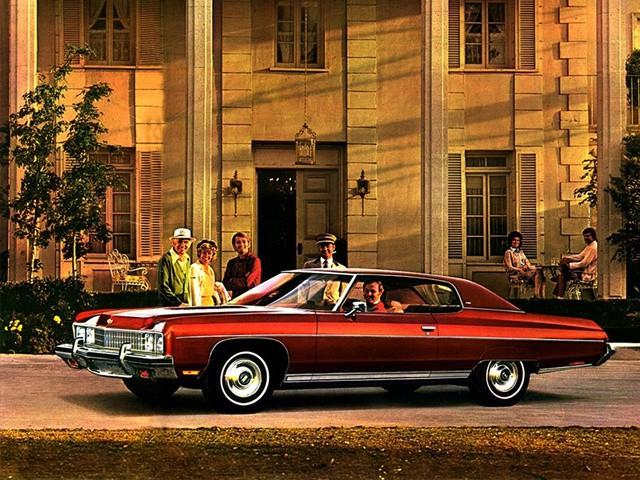 Chevrolet Caprice Custom Coupe хардтоп 2-дв., 1973, 2 поколение [2-й рестайлинг] - отзывы, фото и характеристики на Car.ru