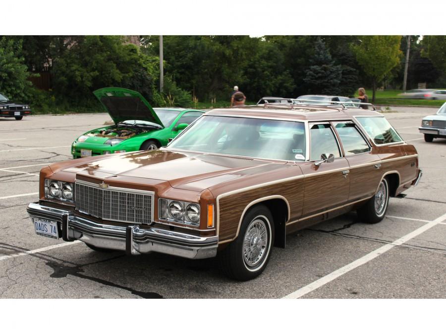 Chevrolet Caprice Kingswood Estate универсал, 1974, 2 поколение [3-й рестайлинг] - отзывы, фото и характеристики на Car.ru