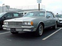 Chevrolet Caprice, 3 поколение [рестайлинг], Купе, 1980–1985