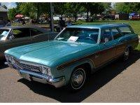 Chevrolet Caprice, 1966, 1 поколение [рестайлинг], Kingswood estate универсал