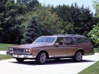 Chevrolet Caprice, 3 поколение [2-й рестайлинг], Универсал, 1986–1990