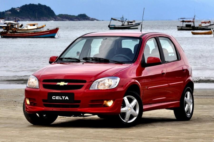 Chevrolet Celta хетчбэк 5-дв., 2011–2016, 1 поколение [2-й рестайлинг] - отзывы, фото и характеристики на Car.ru