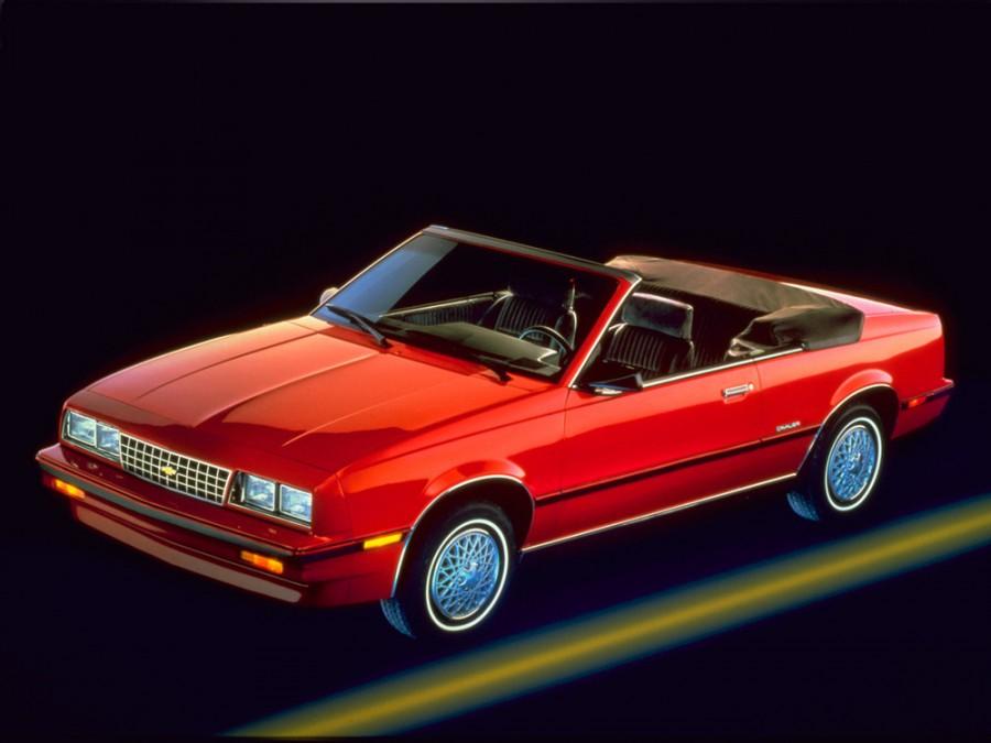 Chevrolet Cavalier кабриолет, 1983–1987, 1 поколение [рестайлинг] - отзывы, фото и характеристики на Car.ru