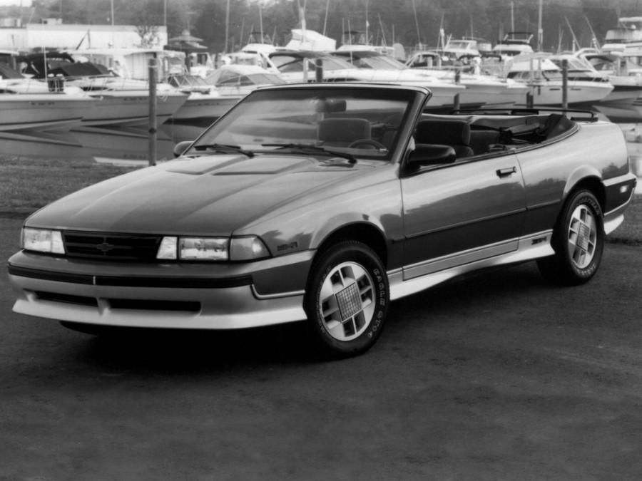 Chevrolet Cavalier кабриолет, 1987–1990, 2 поколение - отзывы, фото и характеристики на Car.ru