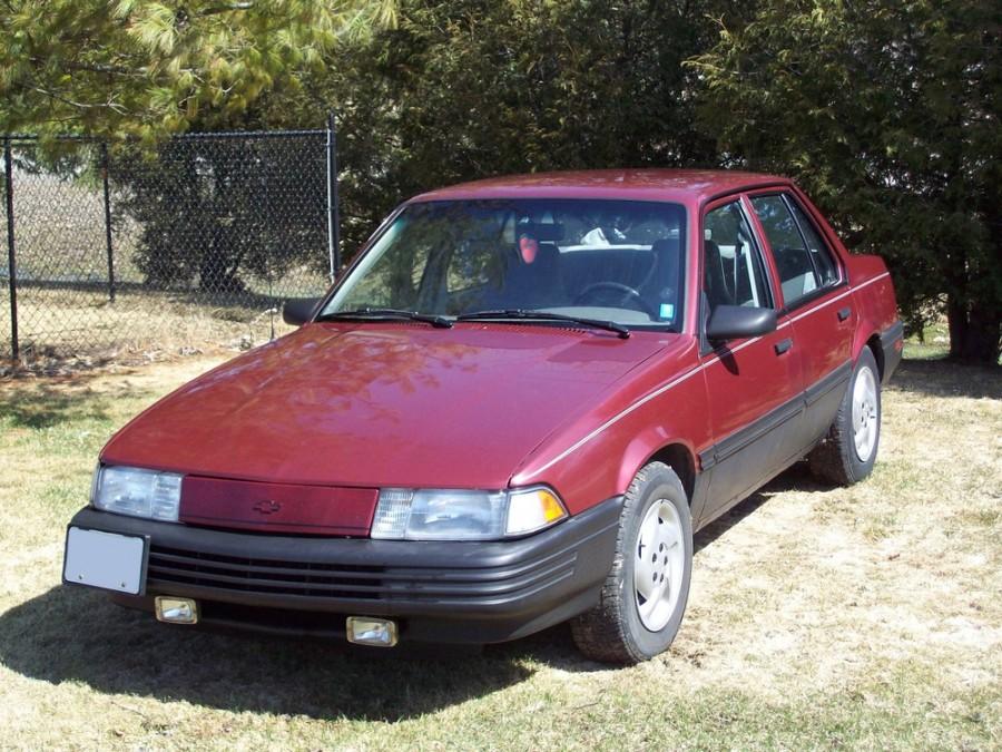 Chevrolet Cavalier седан, 1990–1994, 2 поколение [рестайлинг] - отзывы, фото и характеристики на Car.ru
