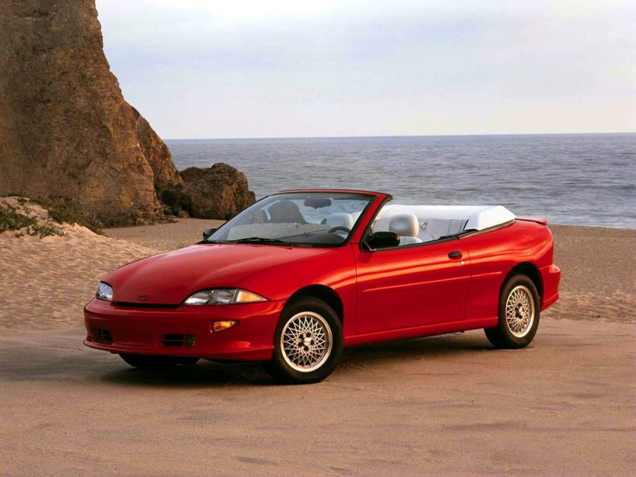 Chevrolet Cavalier кабриолет, 1994–1999, 3 поколение - отзывы, фото и характеристики на Car.ru