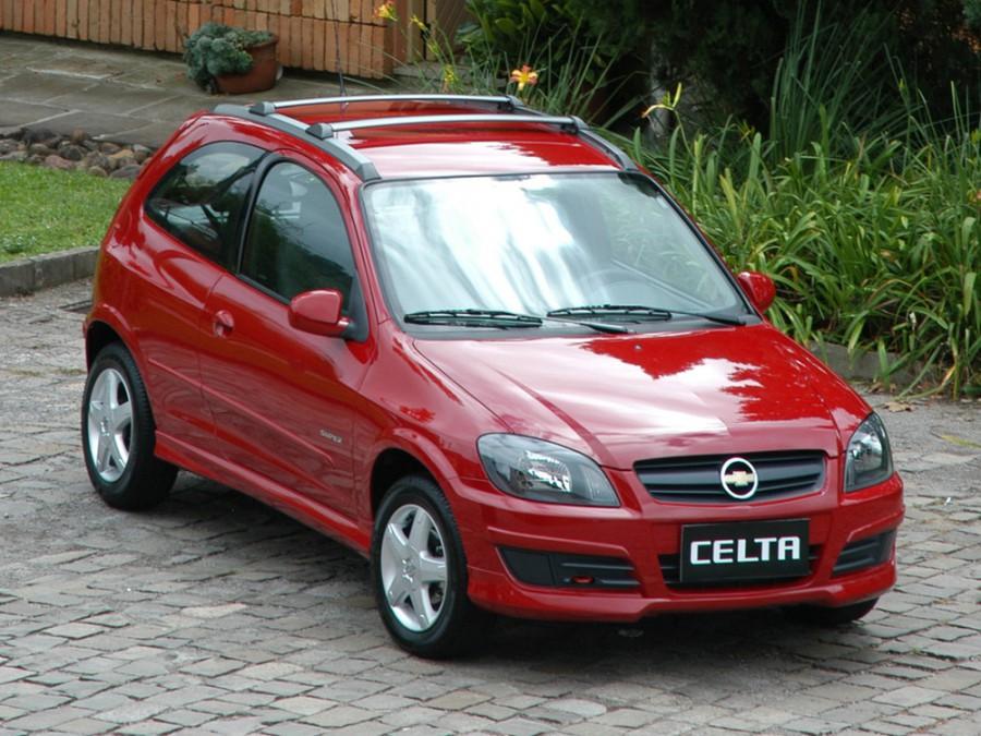 Chevrolet Celta хетчбэк 3-дв., 2006–2011, 1 поколение [рестайлинг] - отзывы, фото и характеристики на Car.ru