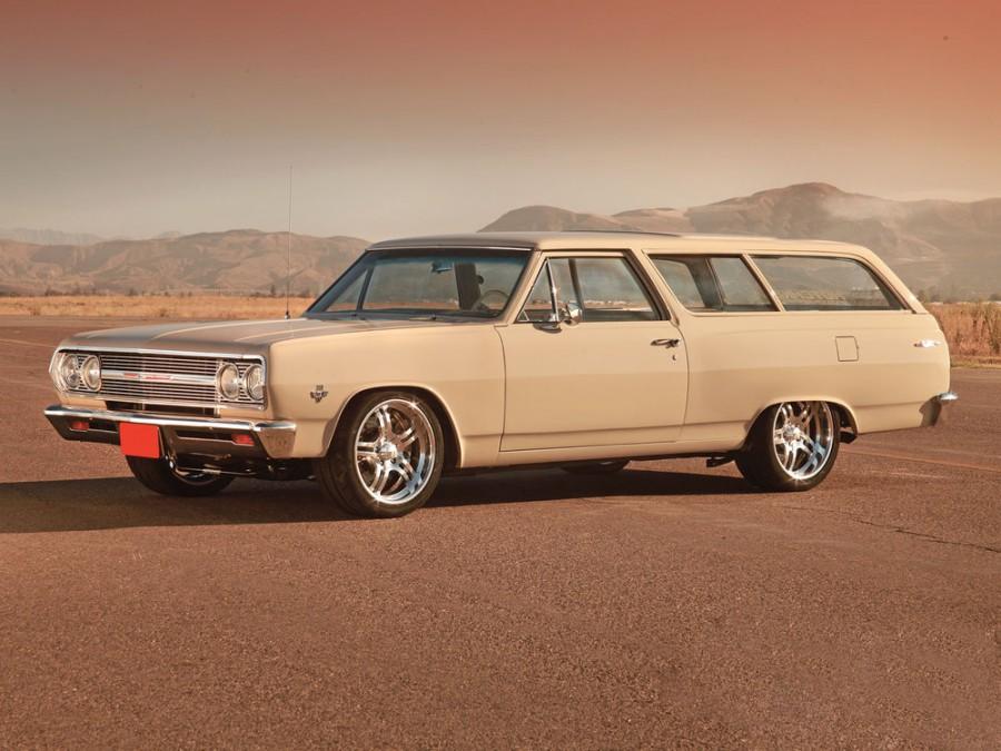 Chevrolet Chevelle Station Wagon универсал 3-дв., 1965, 1 поколение [рестайлинг] - отзывы, фото и характеристики на Car.ru