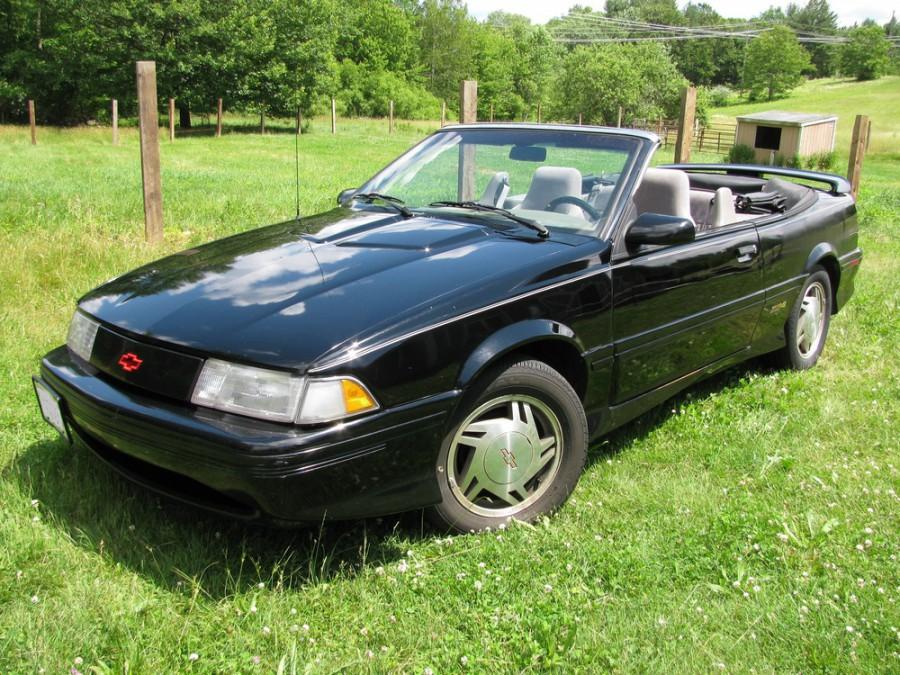 Chevrolet Cavalier кабриолет, 1990–1994, 2 поколение [рестайлинг] - отзывы, фото и характеристики на Car.ru