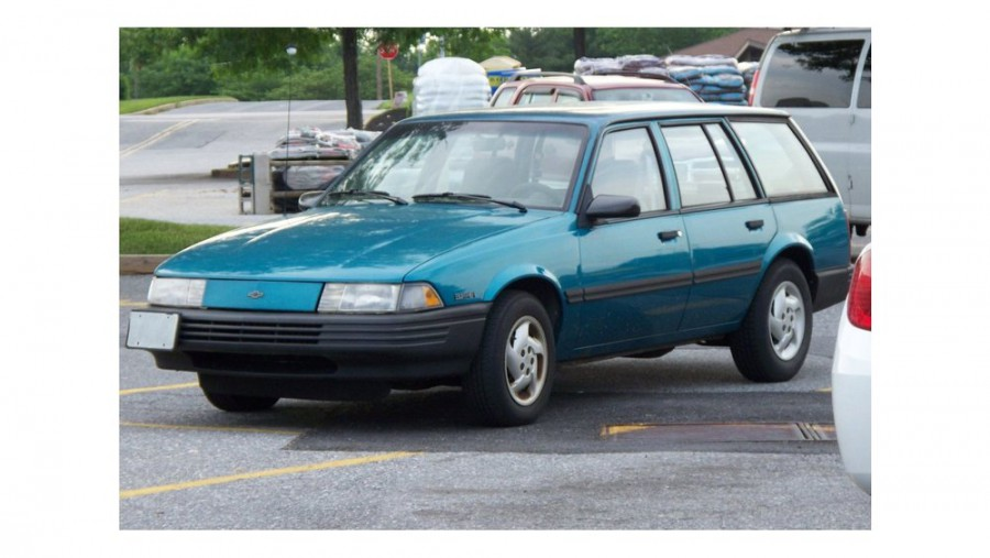 Chevrolet Cavalier универсал, 1990–1994, 2 поколение [рестайлинг] - отзывы, фото и характеристики на Car.ru