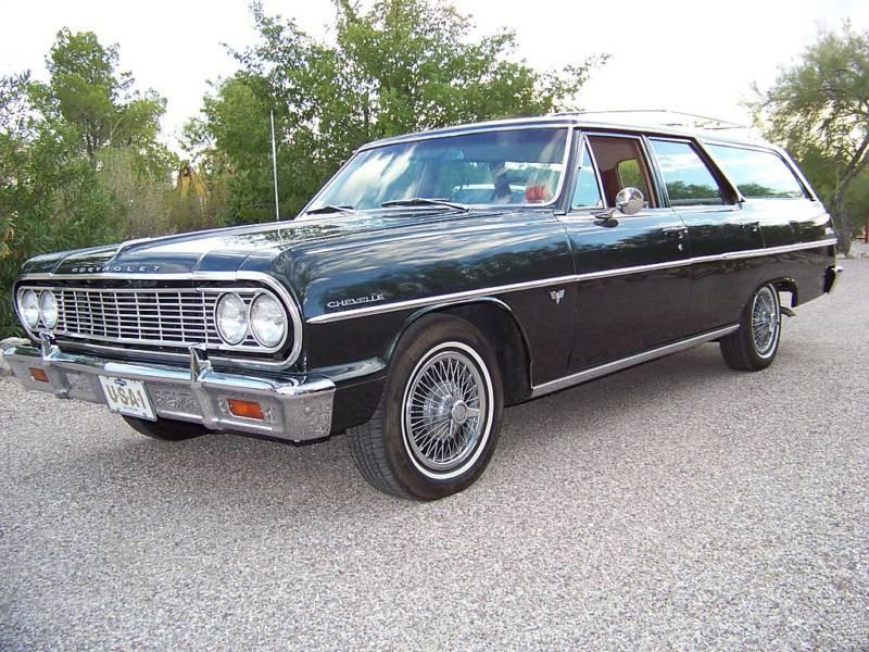 Chevrolet Chevelle Station Wagon универсал 5-дв., 1964, 1 поколение - отзывы, фото и характеристики на Car.ru