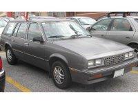 Chevrolet Cavalier, 1 поколение [рестайлинг], Station wagon универсал, 1983–1987