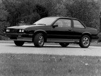 Chevrolet Cavalier, 1 поколение [рестайлинг], Купе, 1983–1987