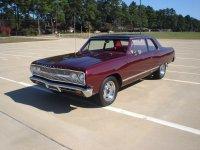 Chevrolet Chevelle, 1965, 1 поколение [рестайлинг], Седан 2-дв.