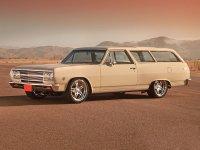Chevrolet Chevelle, 1965, 1 поколение [рестайлинг], Station wagon универсал 3-дв.
