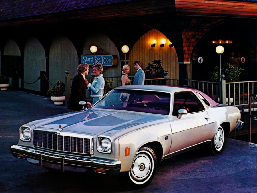 Chevrolet Chevelle Classic купе 2-дв., 1975, 3 поколение [2-й рестайлинг] - отзывы, фото и характеристики на Car.ru