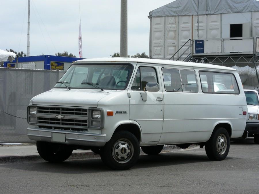 Chevrolet Chevy Van Sportvan микроавтобус, 1983–1991, 3 поколение [3-й рестайлинг] - отзывы, фото и характеристики на Car.ru