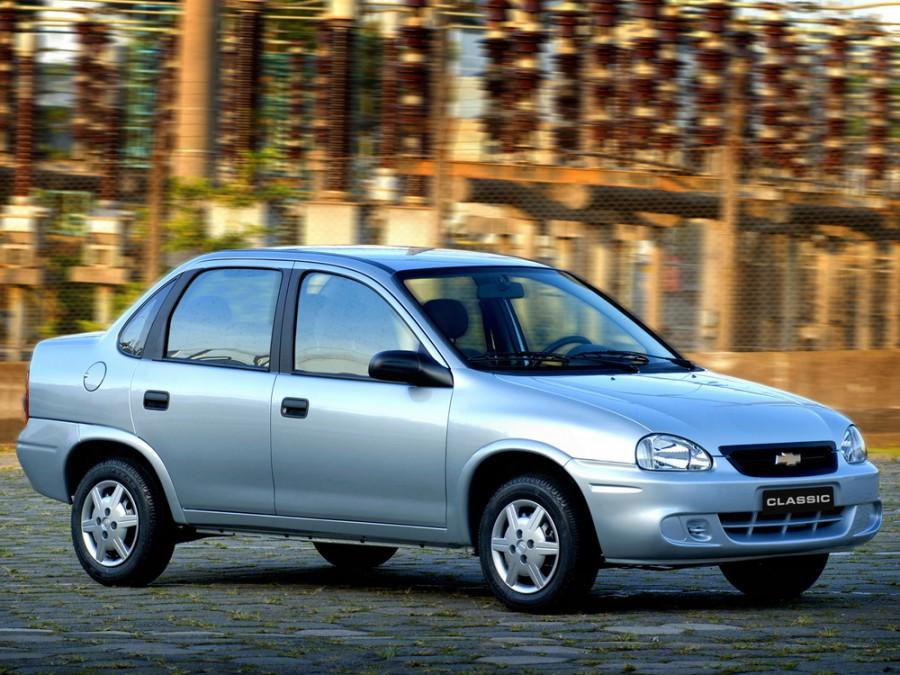 Chevrolet Classic седан, 1 поколение [рестайлинг] - отзывы, фото и характеристики на Car.ru
