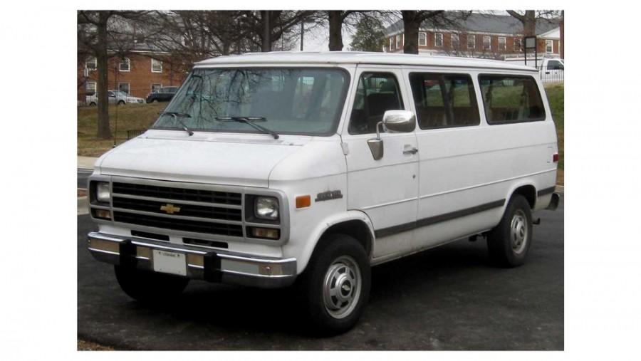 Chevrolet Chevy Van Sportvan микроавтобус, 1978–1982, 3 поколение [2-й рестайлинг] - отзывы, фото и характеристики на Car.ru