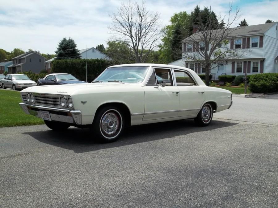 Chevrolet Chevelle седан 4-дв., 1967, 1 поколение [3-й рестайлинг] - отзывы, фото и характеристики на Car.ru