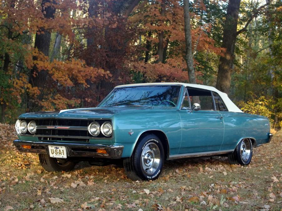 Chevrolet Chevelle кабриолет, 1965, 1 поколение [рестайлинг] - отзывы, фото и характеристики на Car.ru