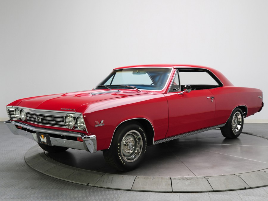 Chevrolet Chevelle Sport Coupe купе, 1967, 1 поколение [3-й рестайлинг] - отзывы, фото и характеристики на Car.ru