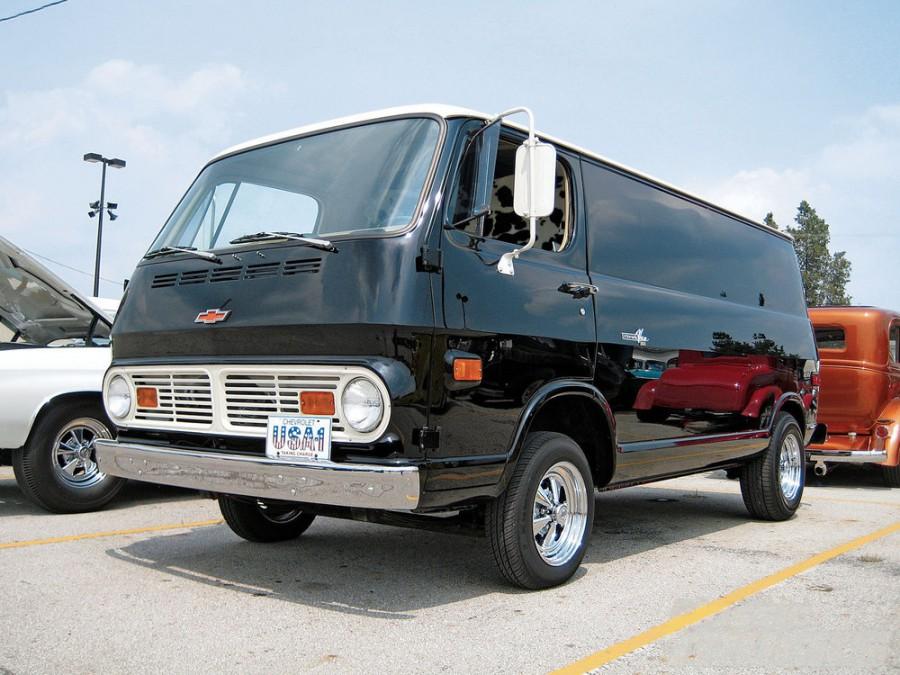 Chevrolet Chevy Van фургон, 1967–1970, 2 поколение - отзывы, фото и характеристики на Car.ru