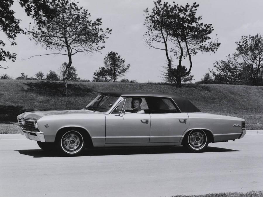 Chevrolet Chevelle Sport Sedan хардтоп, 1967, 1 поколение [3-й рестайлинг] - отзывы, фото и характеристики на Car.ru