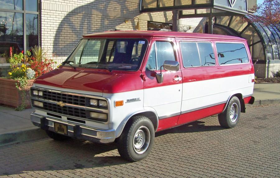 Chevrolet Chevy Van Sportvan микроавтобус, 1992–1996, 3 поколение [4-й рестайлинг] - отзывы, фото и характеристики на Car.ru