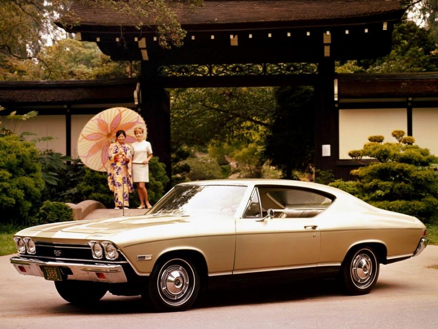 Chevrolet Chevelle Sport Coupe купе 2-дв., 1968, 2 поколение - отзывы, фото и характеристики на Car.ru