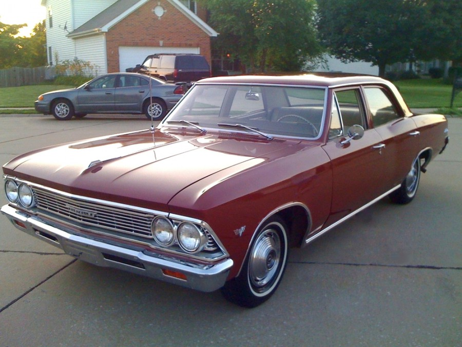 Chevrolet Chevelle седан 4-дв., 1966, 1 поколение [2-й рестайлинг] - отзывы, фото и характеристики на Car.ru