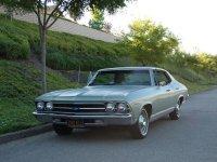 Chevrolet Chevelle, 1969, 2 поколение [рестайлинг], Sport sedan хардтоп