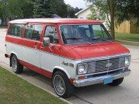 Chevrolet Chevy Van, 3 поколение [рестайлинг], Sportvan микроавтобус, 1973–1977