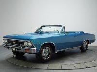 Chevrolet Chevelle, 1 поколение [2-й рестайлинг], Ss кабриолет 2-дв., 1966