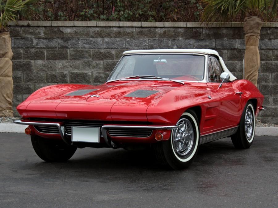 Chevrolet Corvette Sting Ray родстер, 1963, C2 - отзывы, фото и характеристики на Car.ru