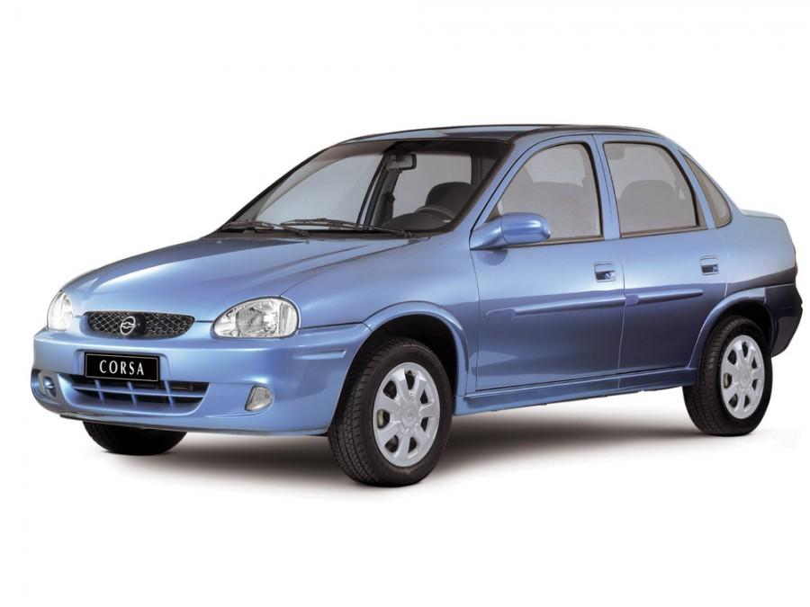 Chevrolet Corsa седан, 1994–2002, 1 поколение - отзывы, фото и характеристики на Car.ru