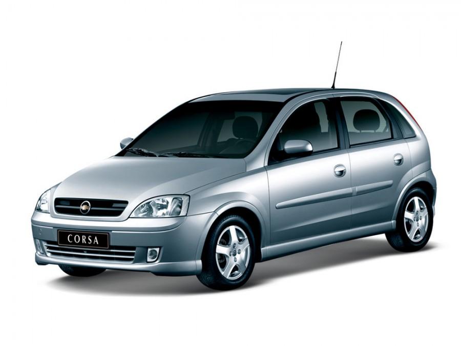 Chevrolet Corsa хетчбэк 5-дв., 2002–2012, 2 поколение - отзывы, фото и характеристики на Car.ru
