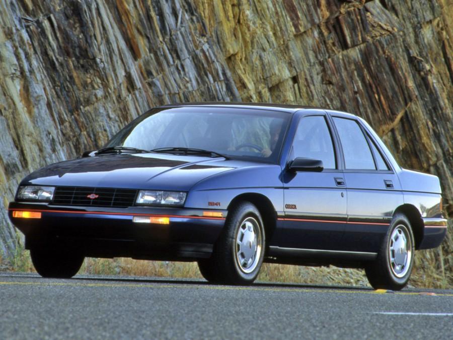 Chevrolet Corsica седан, 1988–1996, 1 поколение - отзывы, фото и характеристики на Car.ru