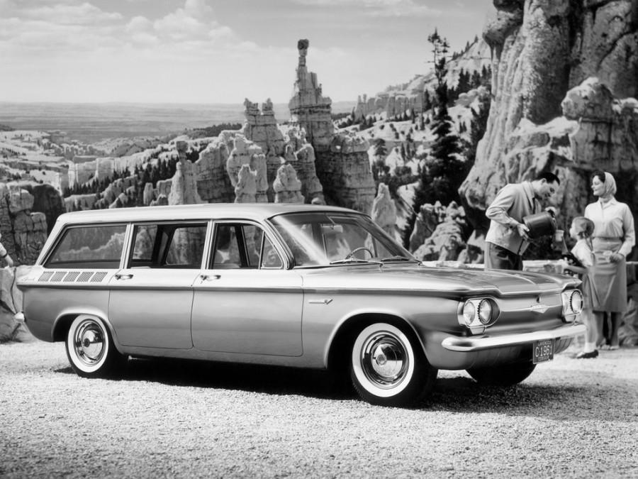 Chevrolet Corvair Lakewood универсал, 1961–1965, 1 поколение [рестайлинг] - отзывы, фото и характеристики на Car.ru