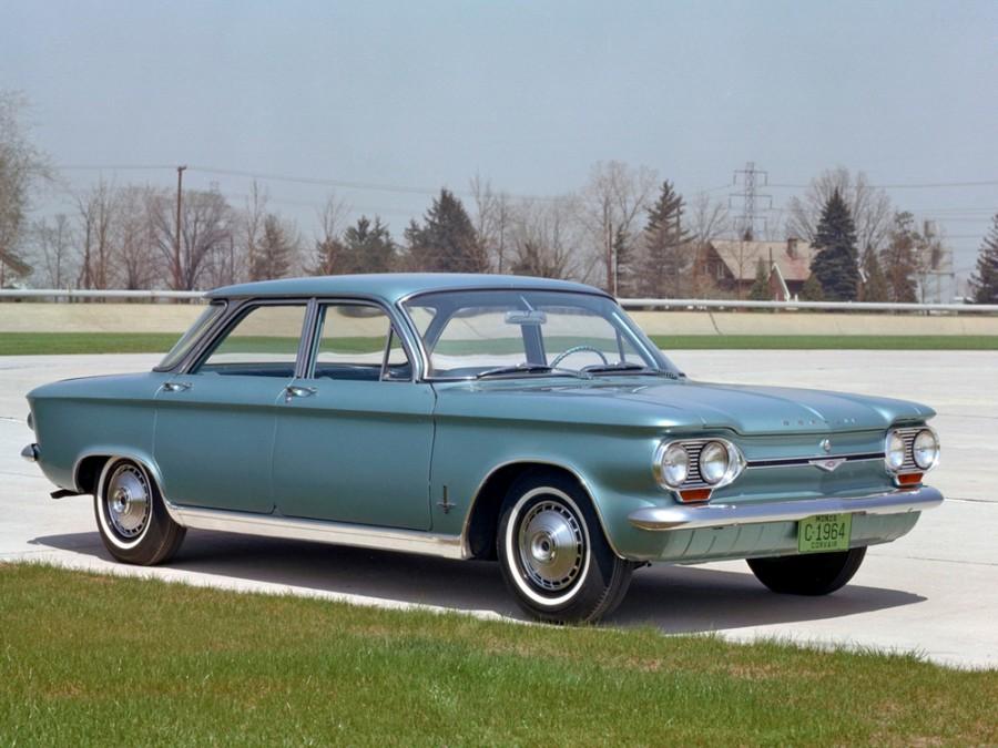 Chevrolet Corvair седан, 1964, 1 поколение [4-й рестайлинг] - отзывы, фото и характеристики на Car.ru