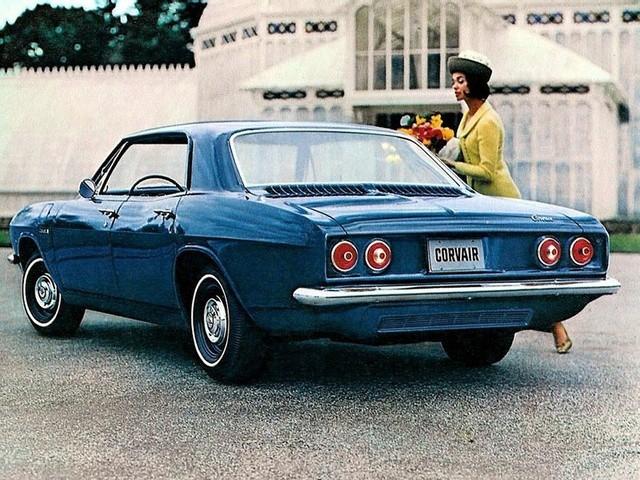 Chevrolet Corvair хардтоп, 1965–1969, 2 поколение [рестайлинг] - отзывы, фото и характеристики на Car.ru