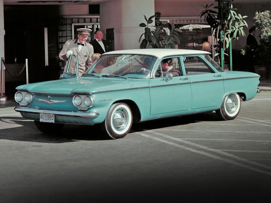 Chevrolet Corvair седан, 1960, 1 поколение - отзывы, фото и характеристики на Car.ru