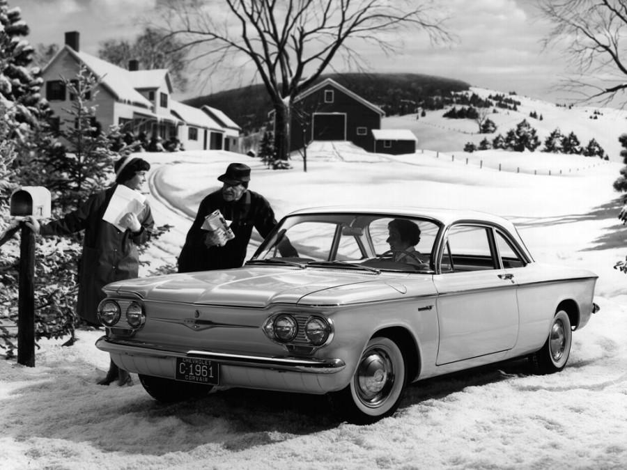 Chevrolet Corvair купе, 1961–1965, 1 поколение [рестайлинг] - отзывы, фото и характеристики на Car.ru