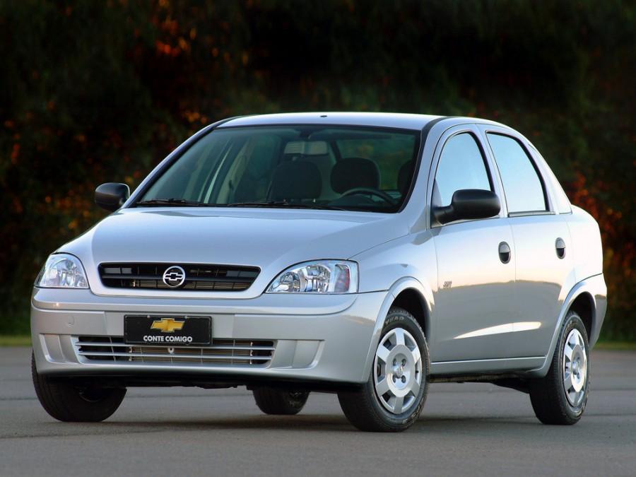 Chevrolet Corsa седан, 2002–2012, 2 поколение - отзывы, фото и характеристики на Car.ru