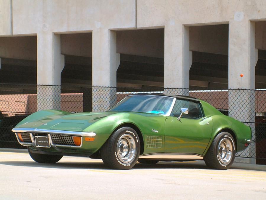 Chevrolet Corvette Sting Ray тарга, 1970–1972, C3 [рестайлинг] - отзывы, фото и характеристики на Car.ru